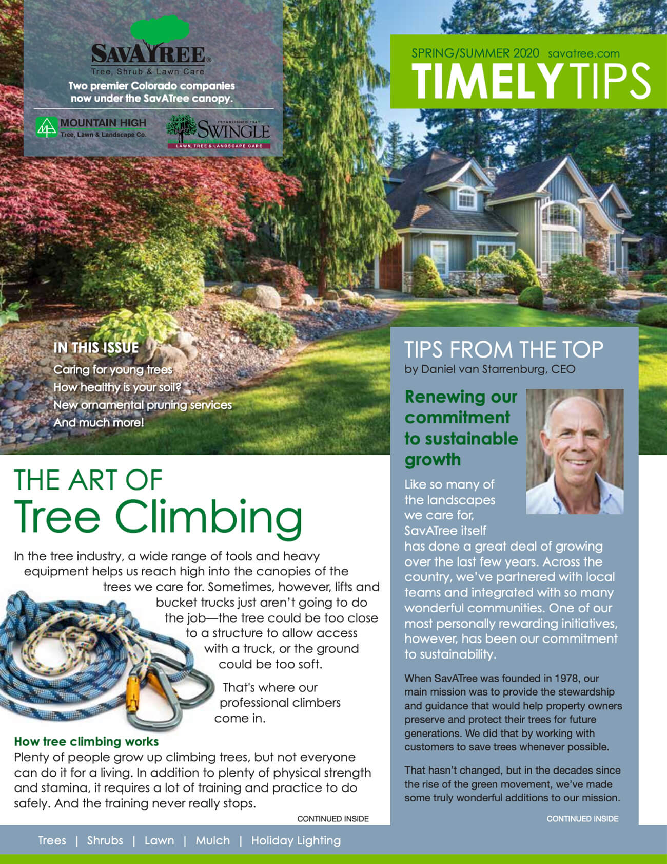 Timely Tips Fall 2020 Cover CO Residential